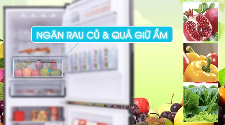 Tủ lạnh Panasonic Inverter 255 lít NR-BV288GKV2 - Ngăn rau củ