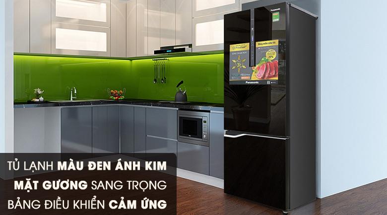 Thiết kế - Tủ lạnh Panasonic Inverter 290 lít NR-BV328GKV2