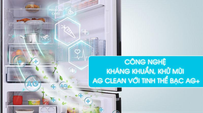 Bảo vệ tốt cho sức khỏe với công nghệ kháng khuẩn Ag Clean - Tủ lạnh Panasonic Inverter 290 lít NR-BV328GKV2