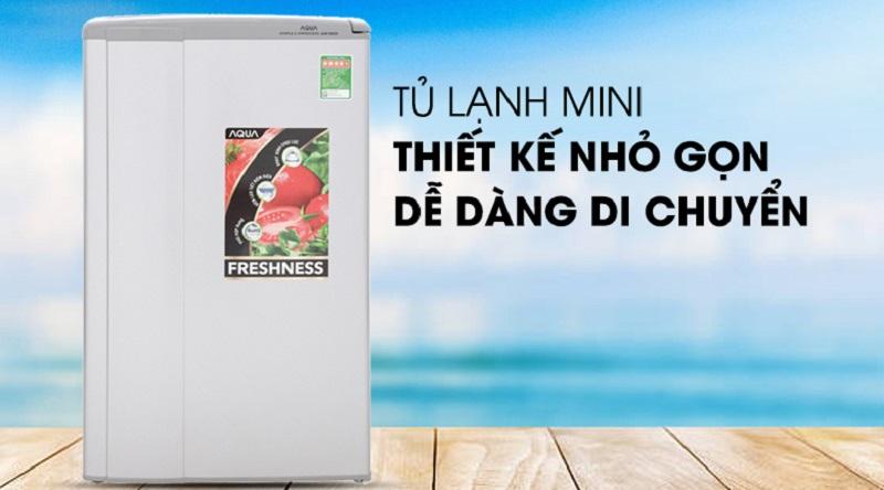 Tủ lạnh Aqua 90 lít AQR-95ER (SS)
