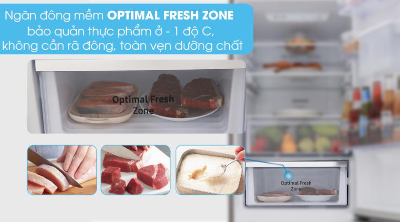 Ngăn đông mềm - Tủ lạnh Samsung Inverter 307 lít RB30N4180B1/SV