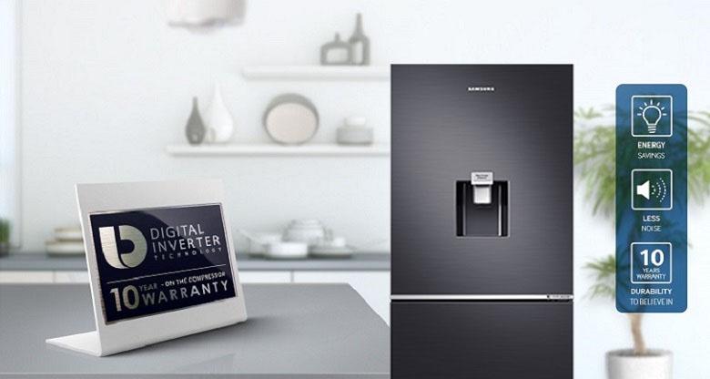 Công nghệ Digital Inverter - Tủ lạnh Samsung Inverter 307 lít RB30N4180B1/SV