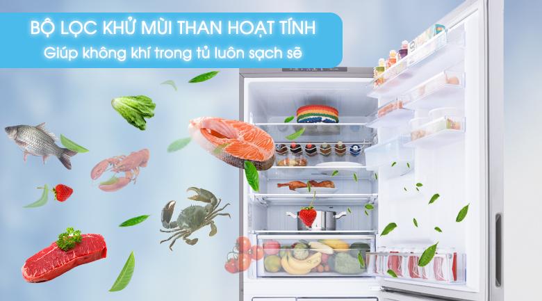 Bộ lọc than hoạt tính - Tủ lạnh Samsung Inverter 424 lít RL4034SBAS8/SV