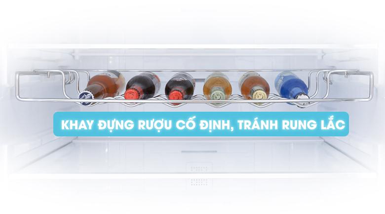Khay đựng rượu cố định - Tủ lạnh Samsung Inverter 424 lít RL4034SBAS8/SV