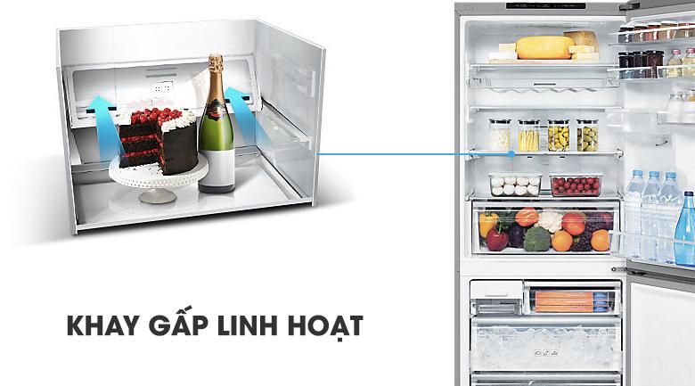 Khay gấp linh hoạt - Tủ lạnh Samsung Inverter 424 lít RL4034SBAS8/SV