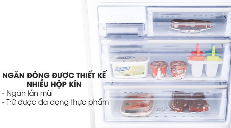 Ngăn đông nhiều hộp chứa - Tủ lạnh Samsung Inverter 424 lít RL4034SBAS8/SV