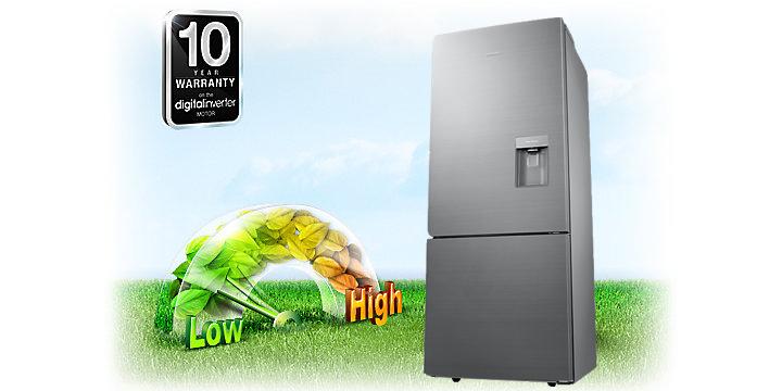 Công nghệ Digital Inverter - Tủ lạnh Samsung Inverter 424 lít RL4034SBAS8/SV