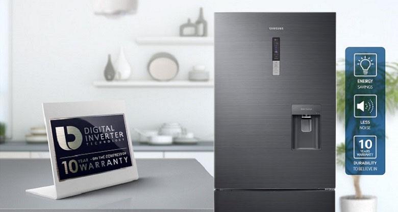 Công nghệ Digital Inverter - Tủ lạnh Samsung Inverter 458 lít RL4364SBABS/SV