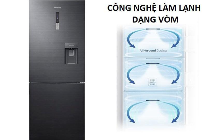 Làm lạnh dạng vòm - Tủ lạnh Samsung Inverter 458 lít RL4364SBABS/SV