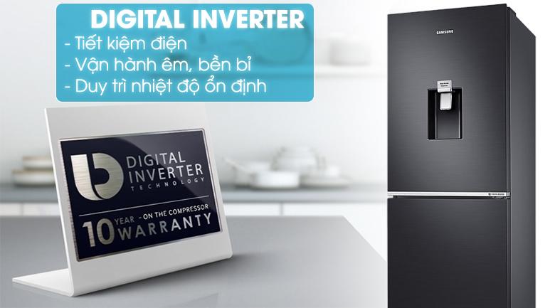 Công nghệ Digital Inverter - Tủ lạnh Samsung Inverter 276 lít RB27N4180B1/SV