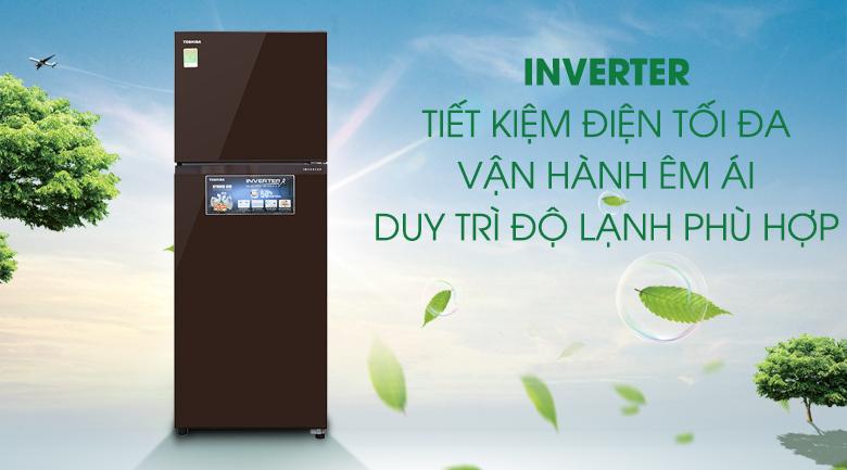 Công nghệ Inverter - Tủ lạnh Toshiba Inverter 305 lít GR-AG36VUBZ XB1