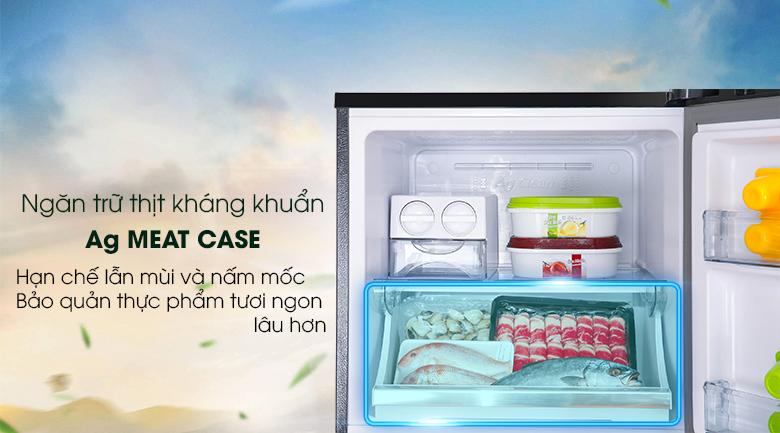 Ngăn đông kháng khuẩn Ag Meat- Tủ lạnh Panasonic Inverter 268 lít NR-BL300PKVN