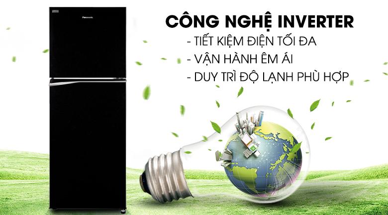 Công nghệ Inverter - Tủ lạnh Panasonic Inverter 268 lít NR-BL300PKVN