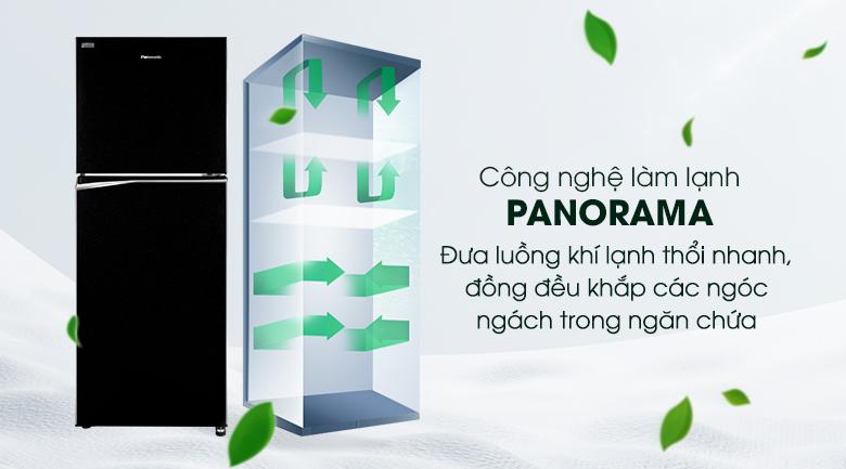 Công nghệ Panorama - Tủ lạnh Panasonic Inverter 268 lít NR-BL300PKVN