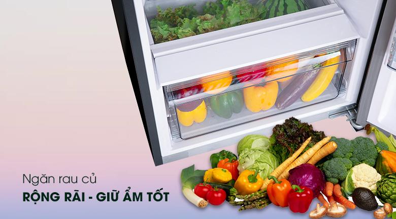 Tủ lạnh Panasonic 268 lít BL300PKVN - Ngăn rau củ lớn
