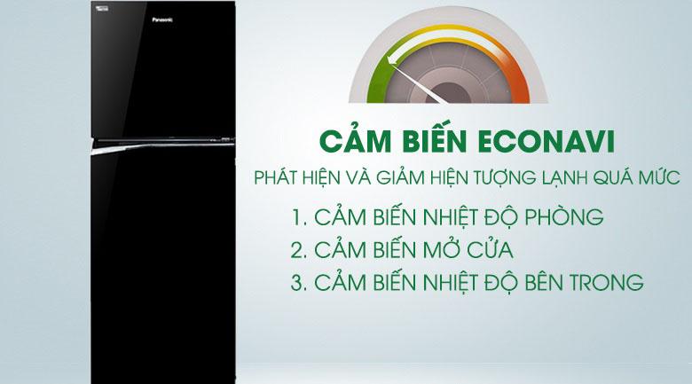 Cảm biến Econavi - Tủ lạnh Panasonic Inverter 268 lít NR-BL300PKVN