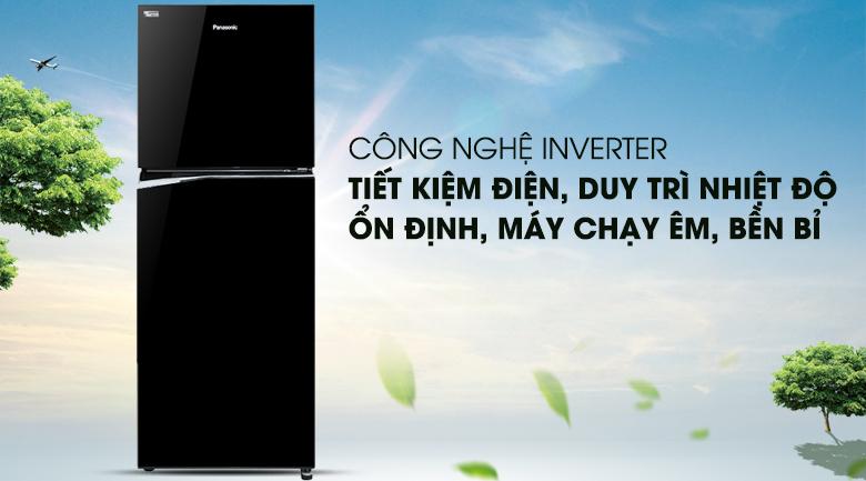 Công nghệ Inverter - Tủ lạnh Panasonic Inverter NR-BL340PKVN