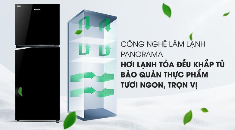 Công nghệ Panorama - Tủ lạnh Panasonic Inverter NR-BL340PKVN