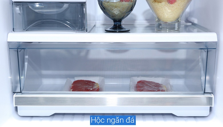 Hộc ngăn đá - Tủ lạnh Panasonic Inverter NR-BL340PKVN