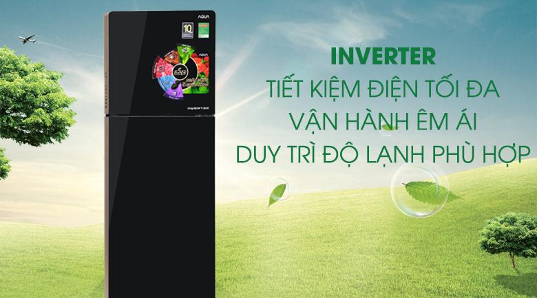 Tủ lạnh Aqua Inverter 270 lít AQR-IG288EN (GB) - Inverter