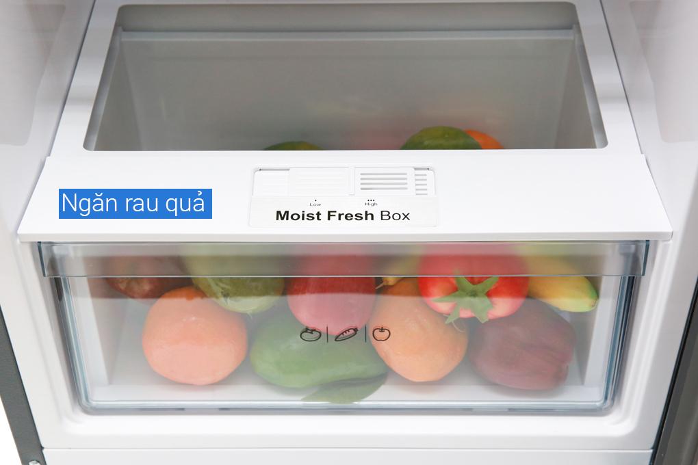 Ngăn rau củ - Tủ lạnh Aqua Inverter 270 lít AQR-IG288EN (GB)