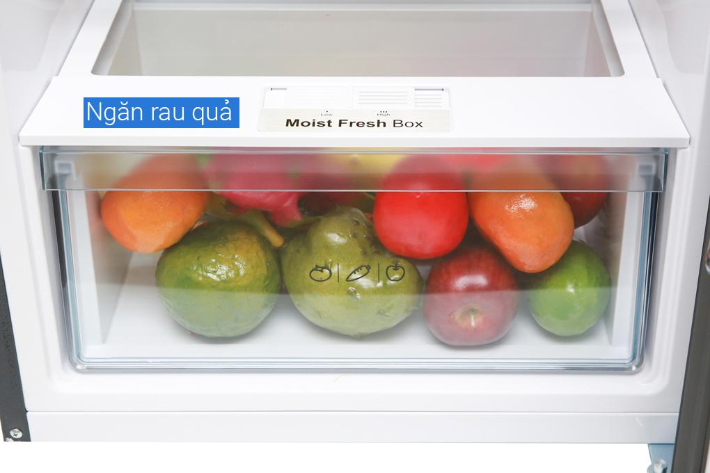 Tủ lạnh Aqua Inveter 235 lít AQR-IG248EN (GB) - Ngăn rau củ tùy chỉnh độ ẩm