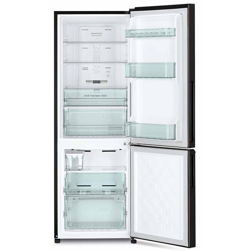 Khay kính chịu lực tốt an toàn cho bạn khi sử dụng - Tủ lạnh Hitachi Inverter 275 lít R-B330PGV8 BBK