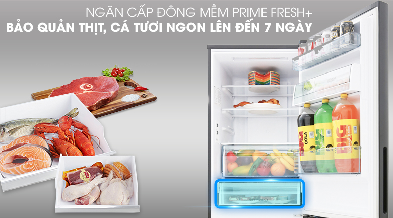 Ngăn cấp đông mềm - Tủ lạnh Panasonic Inverter 290 lít NR-BV328GMV2
