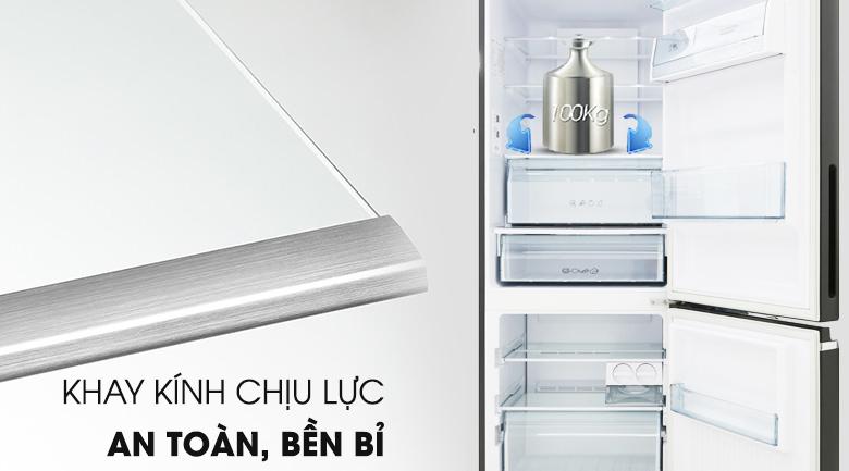 Khay kính chịu lực - Tủ lạnh Panasonic Inverter 290 lít NR-BV328GMV2