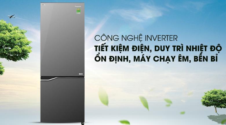 Công nghệ Inverter - Tủ lạnh Panasonic Inverter 290 lít NR-BV328GMV2