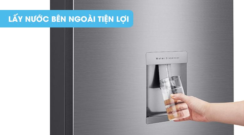 Lấy nước bên ngoài - Tủ lạnh LG Inverter 315 lít GN-D315PS
