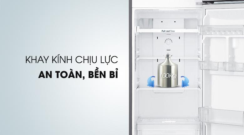 Khay chứa chịu lực, bền bỉ - Tủ lạnh LG Inverter 255 lít GN-L255S