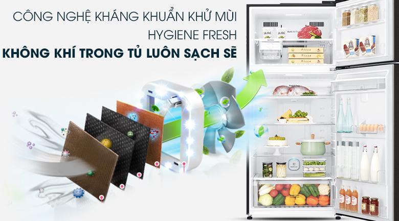 Tủ lạnh LG Inverter 475 lít GN-D602BL - Khử mùi