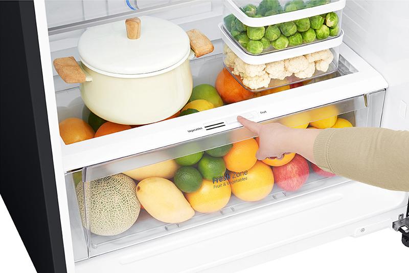 Tủ lạnh LG Inverter 475 lít GN-D602BL - Ngăn rau củ