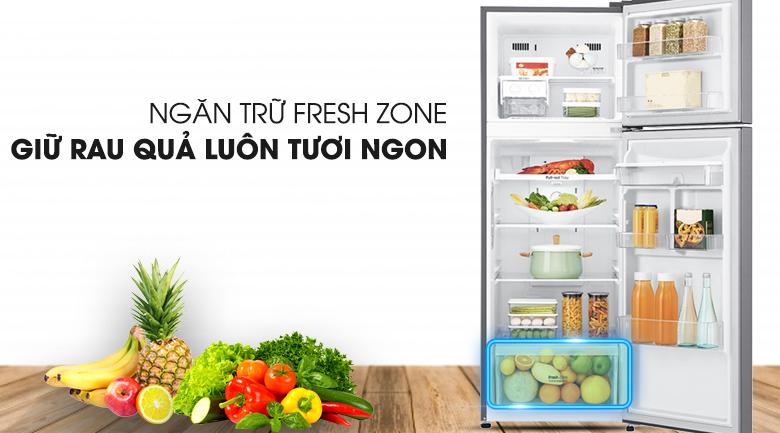 Ngăn cân bằng độ ẩm với mắt cáo độc quyền LG - Tủ lạnh LG Inverter 393 lít GN-D422PS