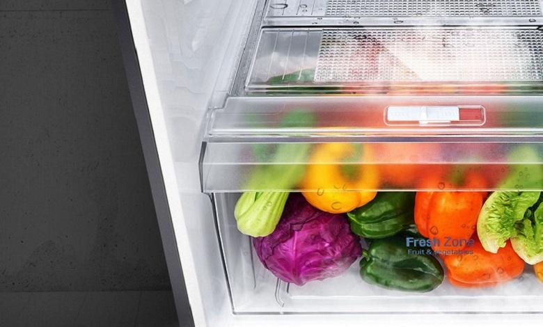Ngăn cân bằng độ ẩm - Tủ lạnh LG Inverter 393 lít GN-D422PS