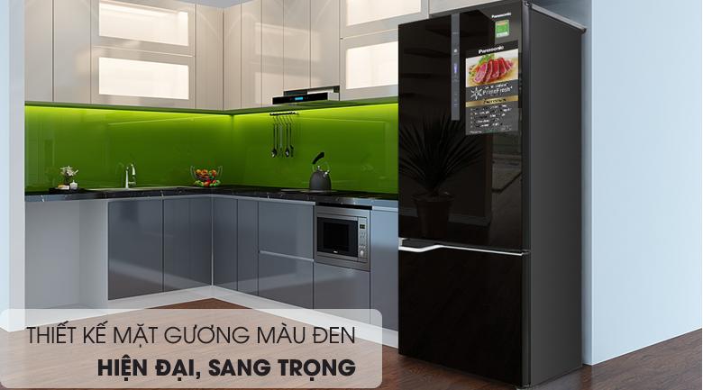 Thiết kế - Tủ lạnh Panasonic Inverter 322 lít NR-BV368GKV2