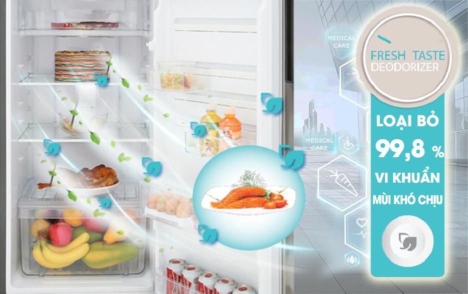 Tủ lạnh Electrolux ETB2802H-A - Khử mùi Fresh Taste