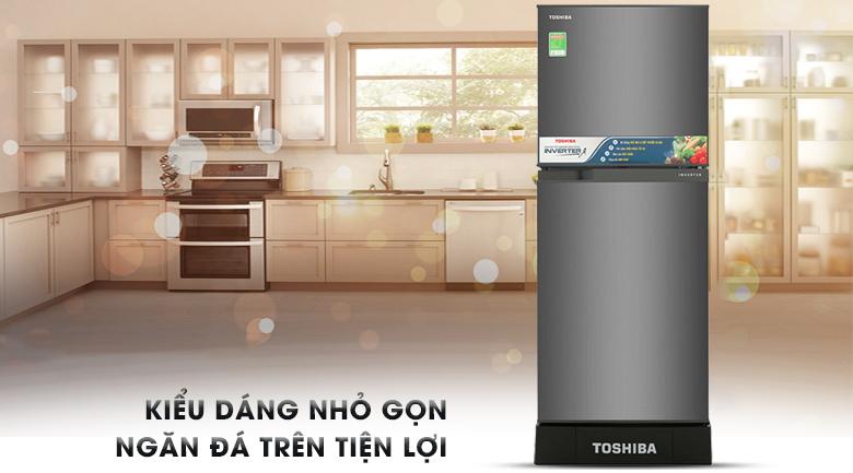 Tủ lạnh Toshiba Inverter 194 lít GR-A25VS (DS)