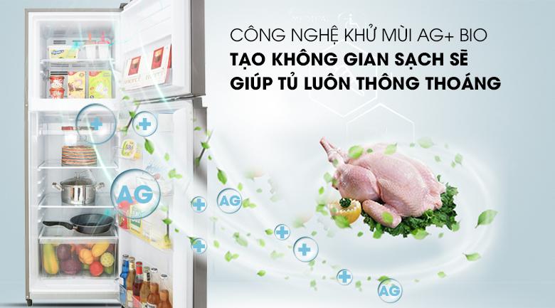 Công nghệ khử mùi Ag+ Bio - Tủ lạnh Toshiba Inverter 233 lít GR-A28VS (DS)