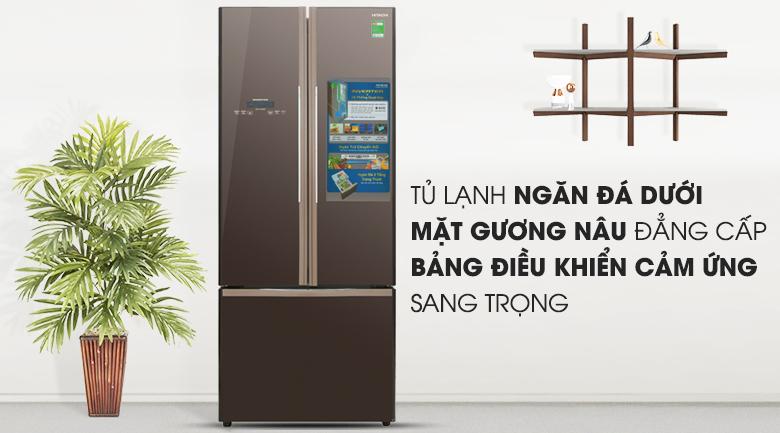 Tủ lạnh Hitachi Inverter 429 lít R-WB545PGV2 GBW