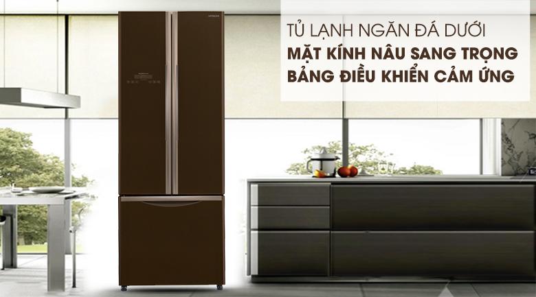 Tủ lạnh Hitachi Inverter 382 lít R-WB475PGV2 GBW
