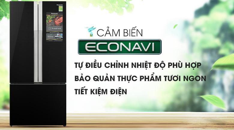 Cảm biến Econavi thông minh - Tủ lạnh Panasonic Inverter 491 lít NR-CY558GKV2