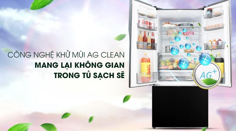 Công nghệ Ag Clean háng khuẩn, khử mùi mạnh mẽ - Tủ lạnh Panasonic Inverter 491 lít NR-CY558GKV2