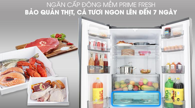 Ngăn cấp đông mềm tiện lợi - Tủ lạnh Panasonic Inverter 491 lít NR-CY558GKV2