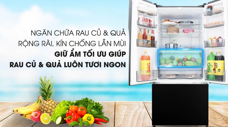 Trang bị ngăn bảo quản rau củ  - Tủ lạnh Panasonic Inverter 491 lít NR-CY558GKV2