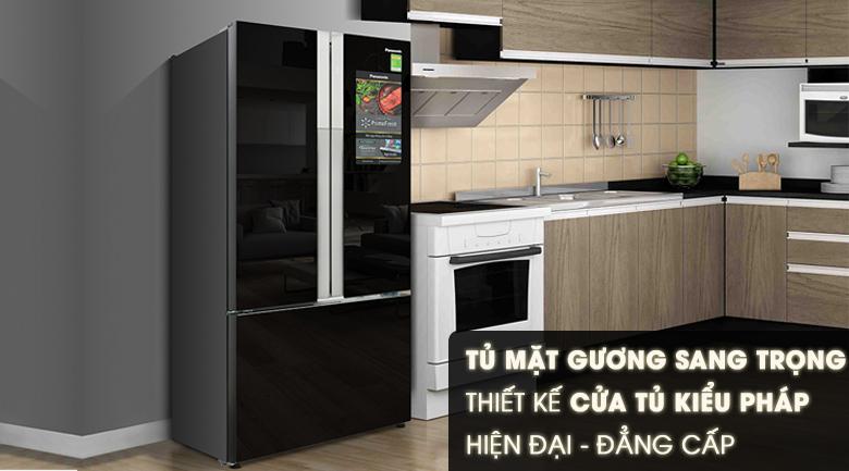 Thiết kế - Tủ lạnh Panasonic Inverter 491 lít NR-CY558GKV2