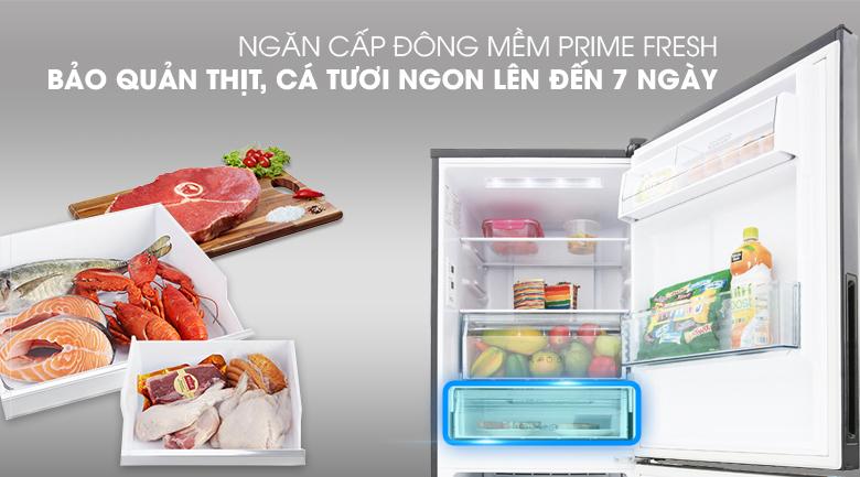 Ngăn cấp đông mềm tiện lợi - Tủ lạnh Panasonic Inverter 255 lít NR-BV289QKV2