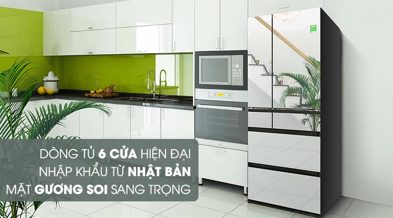 Thiết kế - Tủ lạnh Panasonic Inverter 491 lít NR-F503GT-X2