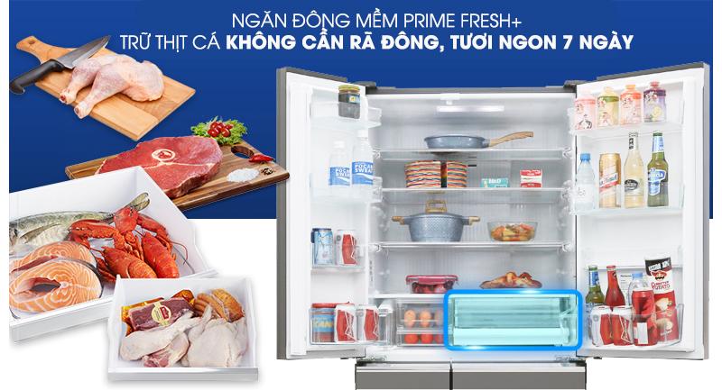 Cấp đông mềm - Tủ lạnh Panasonic Inverter 491 lít NR-F503GT-T2